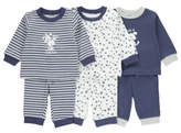 George 3 Pack Assorted Pyjamas