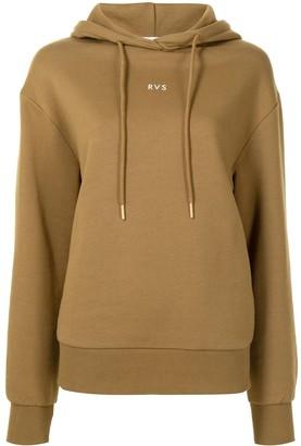 Rebecca Vallance RVS logo cotton hoodie