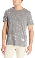 Kenneth Cole New York Kenneth Cole Men's Short Sleeve T-Shirt with Bleach Print