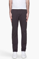Band Of Outsiders Black Twill Chino Trousers