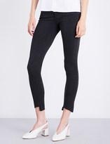 AG Jeans The Legging Ankle stepped-hem super-skinny mid-rise jeans