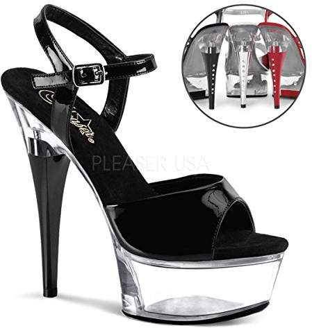 Pleaser USA Women's CAPTIVA-609/B/C Platform Sandal