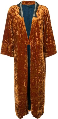 Muller of Yoshio Kubo Velvet Kimono Coat