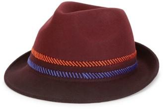 Paul Smith Dip-Dye Trilby Hat