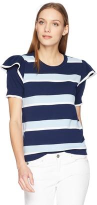 Parker Women's Maren Short Sleeve Striped Sweater