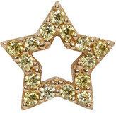 Marc Jacobs Gold Strass Star Earring