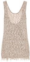 Alanui Exclusive to Mytheresa Cotton-blend tank top