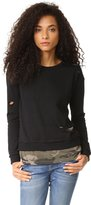 Generation Love Womens Izzy Cotton Shape Tank Top Blouse Black M