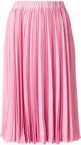 No.21 pleated midi skirt - women - Silk/Acetate - 38