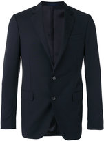 Lanvin classic slim fit blazer - men - Cupro/Wool - 46