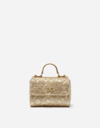 Dolce & Gabbana Handbag With Lace Logo