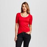 Merona Women's Ultimate Elbow Scoop T-Shirt