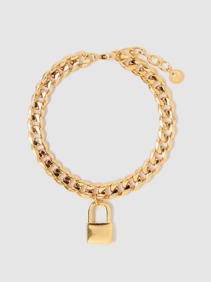 Tess + Tricia Lock Charm Bracelet