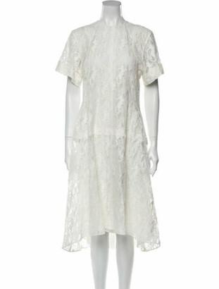 Chloé 2019 Midi Length Dress White
