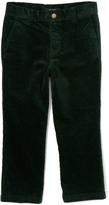 E-Land Kids Dark Green 16-Wale Corduroy Pants - Toddler & Boys