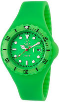 Toy Watch ToyWatch JYD05GR Unisex Jelly Green Silicone and Dial Green Plasteramic and
