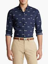 Polo Ralph Lauren Motorcycle Print Shirt, Motorcycle Deco