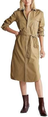 Polo Ralph Lauren Cotton Twill Shirt Dress