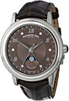 Raymond Weil Women's 2739-L2-05785 Maestro Analog Display Swiss Automatic Watch