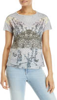 philosophy Printed Glitter Front Tee