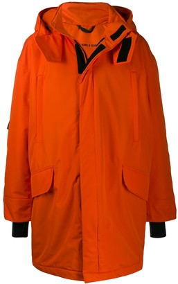 Raf Simons x Templa oversized ski jacket