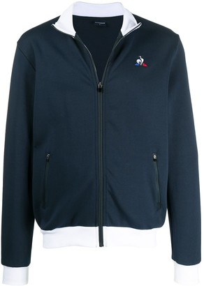 Le Coq Sportif embroidered logo jacket