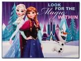 "Disney Frozen® Blue Accent Rug (3'4""x4'6"")"