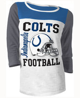 5th & Ocean Women's Indianapolis Colts Three-Quarter Glitter T-Shirt