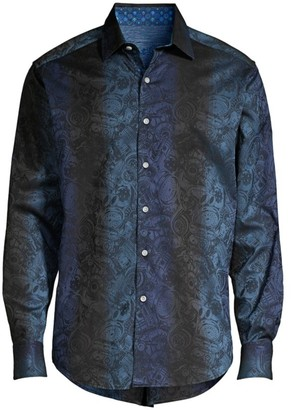 Robert Graham Waynes Tailored-Fit Print Shirt