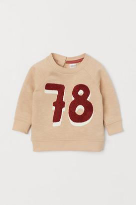 H&M Sweatshirt with Applique