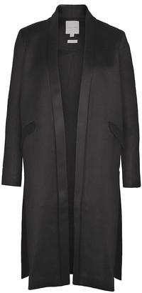 Imaima Samara Coat In Black