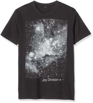 MERCHCODE Men's Joy Division + -Tee Black XXL T-Shirt Xx-Large