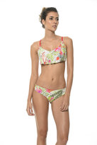 Malai Swimwear 2017 Malai Swimwear - Sylvan Cockatoo Flutter Top T00255