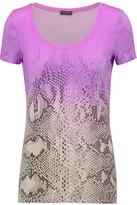 Roberto Cavalli Printed Modal-Blend T-Shirt