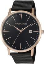 Vince Camuto Women's Quartz Stainless Steel Dress Watch, Color:Black (Model: VC/5300RGBK)