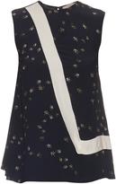 Preen Line Nel daisy-print sleeveless top