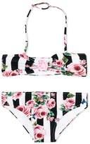 Dolce & Gabbana floral print bikini
