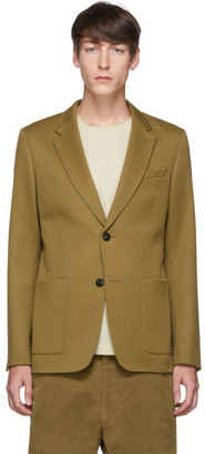 Ami Alexandre Mattiussi Tan Patch Pocket Blazer