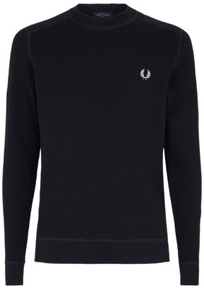 Fred Perry Waffle Knit Sweater