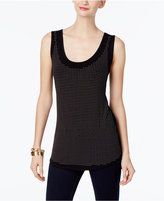 INC International Concepts Studded Tank Top, Only at Macy's