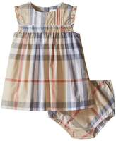 Burberry Aaluf Dress with Frill Sleeve Girl's Dress