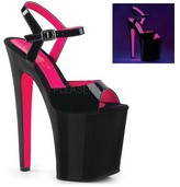 Pleaser USA Women's Xtreme 809TT Ankle-Strap Sandal