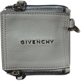 Givenchy Pandora Box Blue Leather Clutch bags
