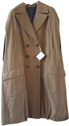 Brunello Cucinelli Camel Cotton Coat for Women