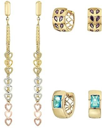 Vanessa Mooney The Posh Earrings Set (Gold) Earring