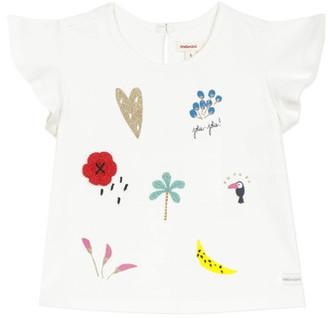 Catimini NADEGE girls's T shirt in White