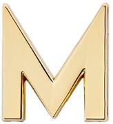 Make Heads Turn Letter M Pin