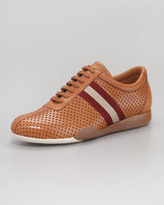 Bally Freenew Perforated Leather Sneaker