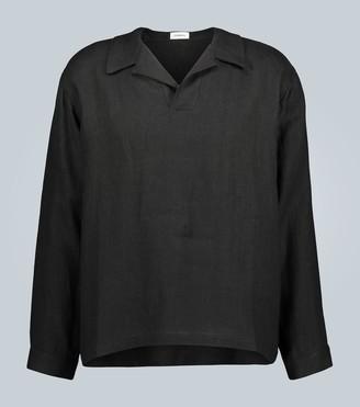 COMMAS Linen rugby shirt