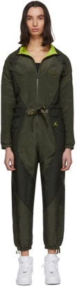 Jordan Khaki Flight Suit Jumpsuit